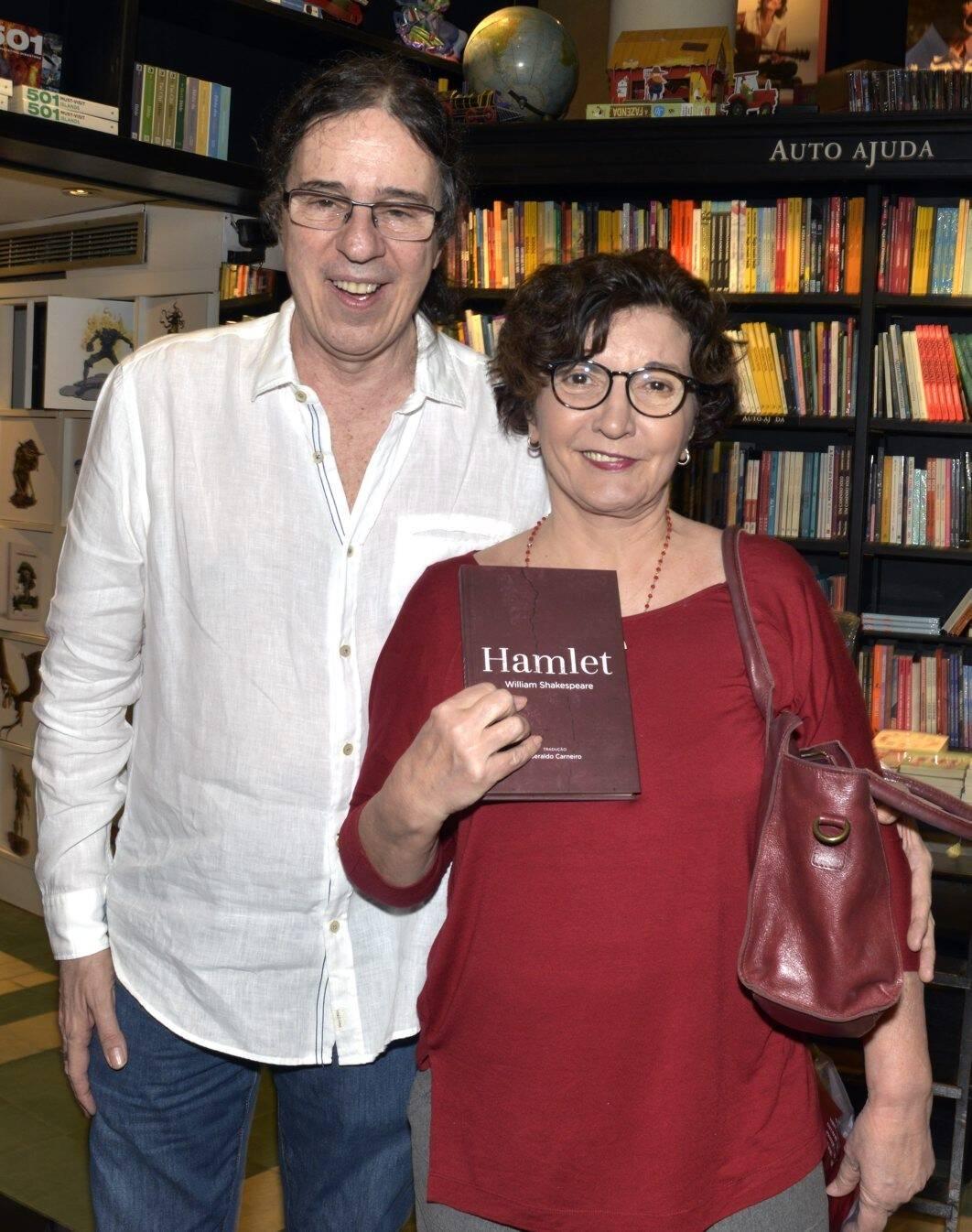 Geraldo Carneiro e Sonia Rodrigues /Foto: Cristina Granato