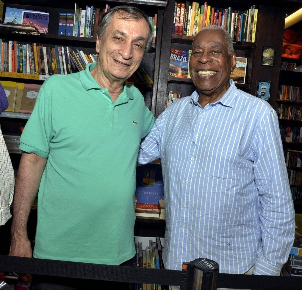 Antonio Cicero e Haroldo Costa /Foto: Cristina Granato