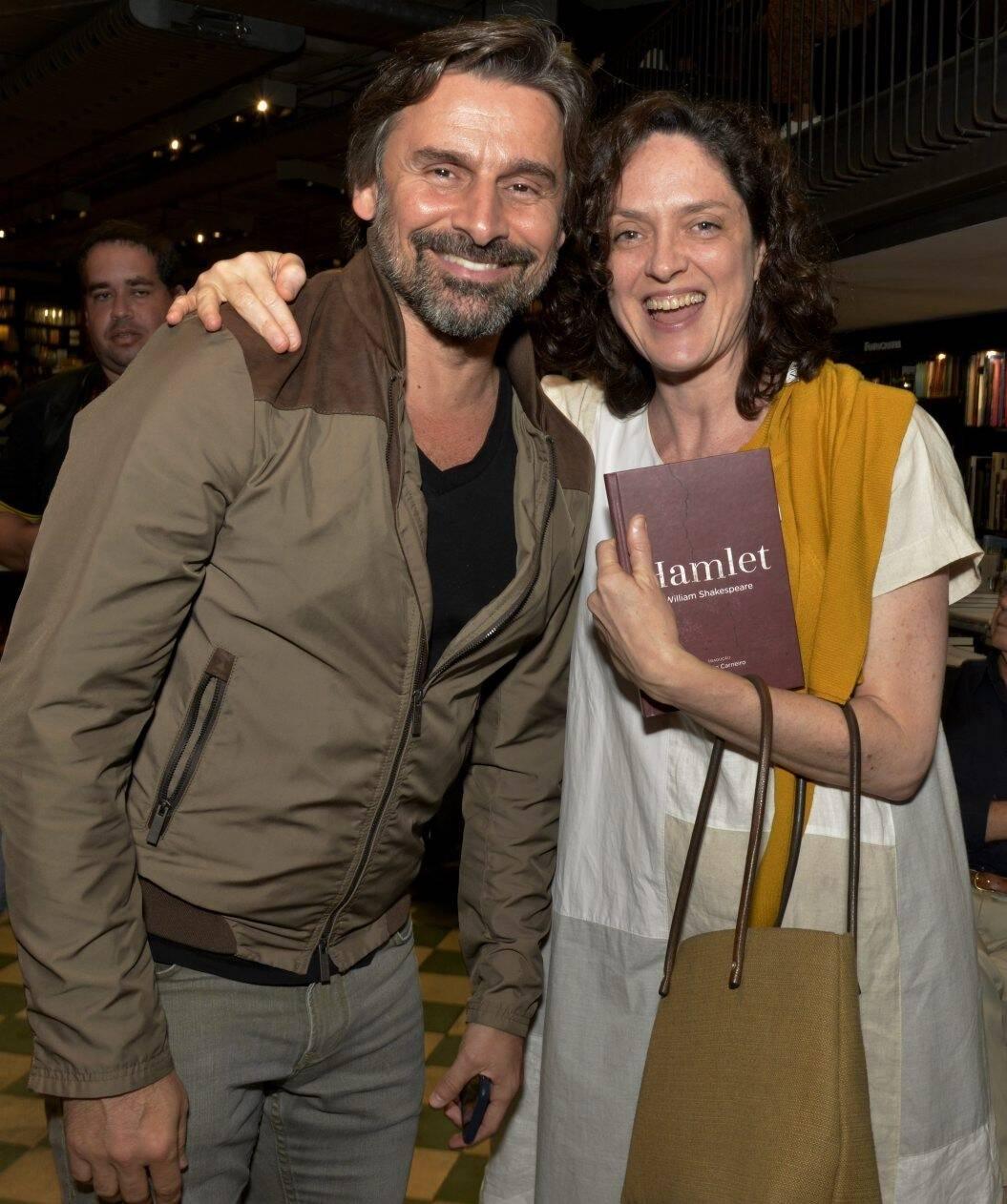 Murilo Rosa e Bianca  Byington /Foto: Cristina Granato