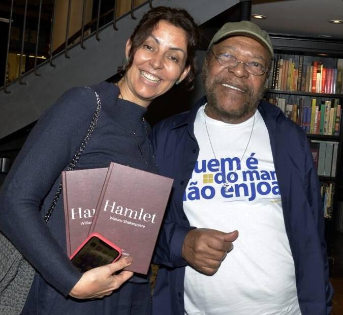 Cléo Ferreira e Martinho da Vila /Foto: Cristina Granato