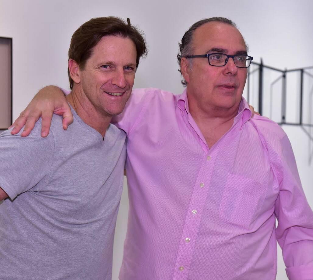 Ricardo Nauenberg e Carlos Leal /Foto: Paulo Jabur