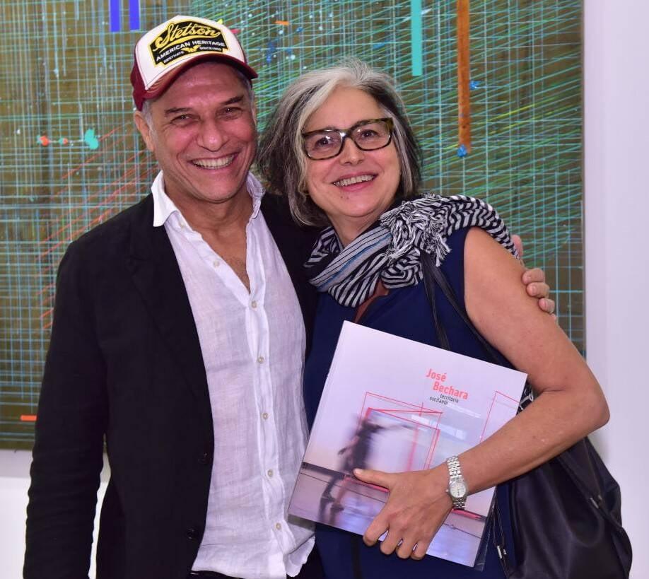 José Bechara e Beth Jobim /Foto: Paulo Jabur