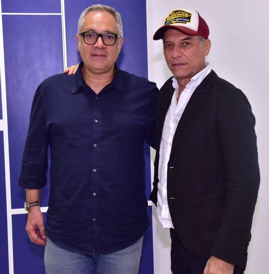 Ricardo Rego e José Bechara /Foto: Paulo Jabur