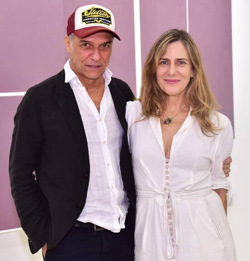 O casal José Bechara e Dedina Bernardelli /Foto: Paulo Jabur
