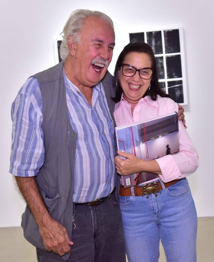Carlos Vergara e Cláudia Zarvos /Foto: Paulo Jabur