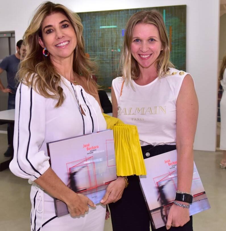 Gorete Colaço e Maria Emília Mônaco /Foto: Paulo Jabur