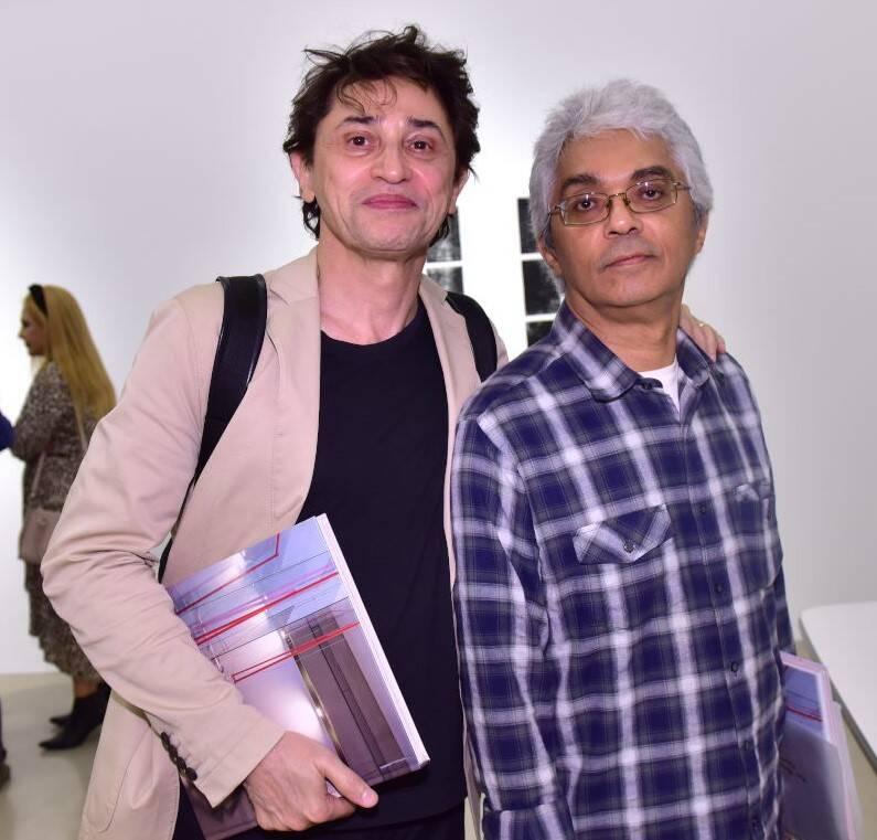 Eucanaã Ferraz e José Mário Pereira /Foto: Paulo Jabur