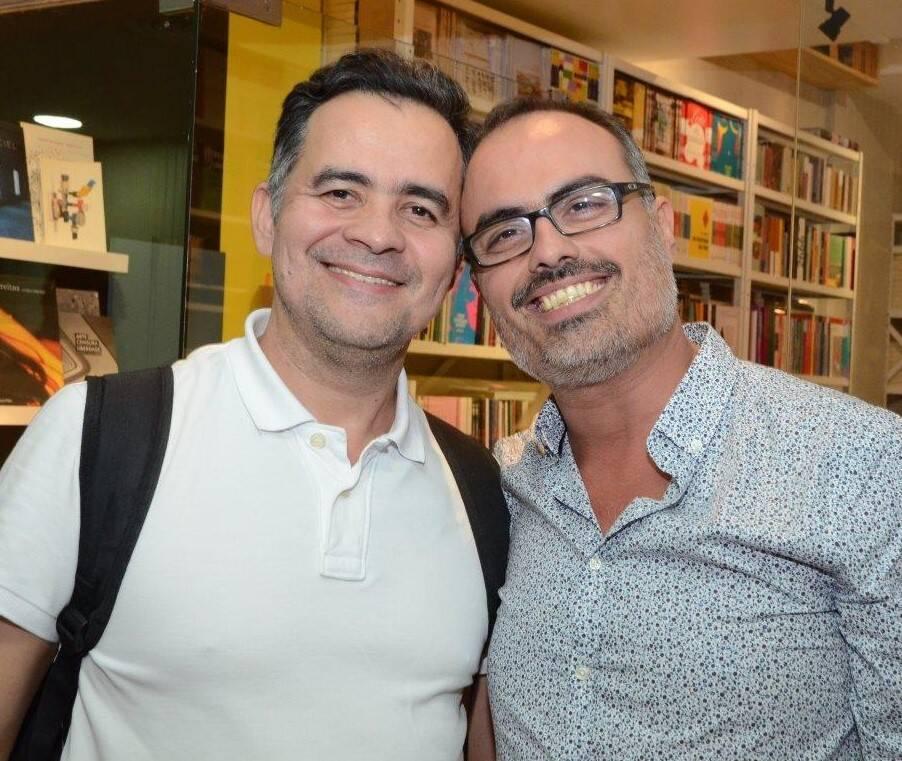 Alberto Saraiva e Christovam de Chevalier /Foto: Marco Rodrigues