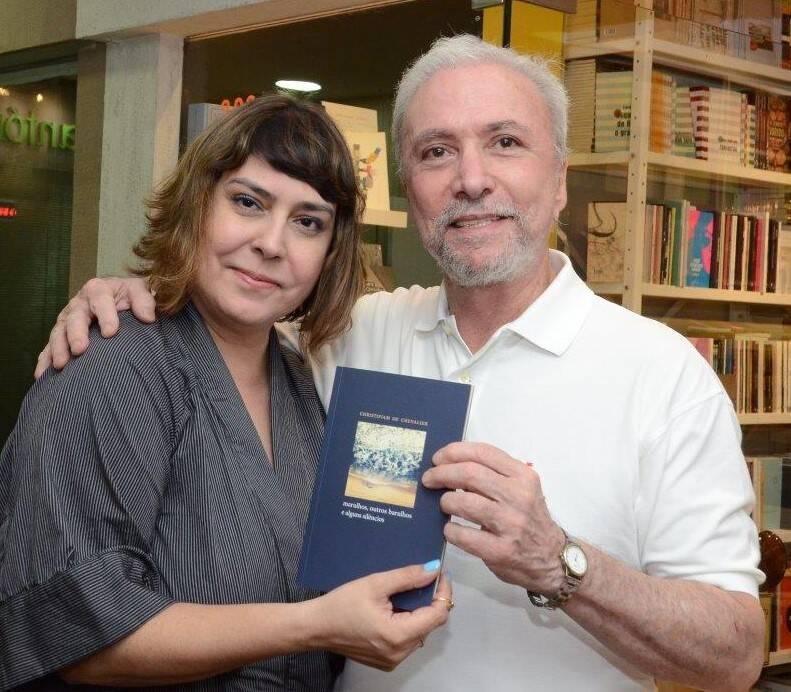 Cláudia Ahimsa e Antonio Carlos Secchin  /Foto: Marco Rodrigues