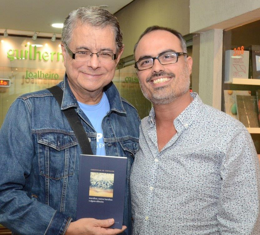 Flávio Marinho e Christovam de Chevalier  /Foto: Marco Rodrigues