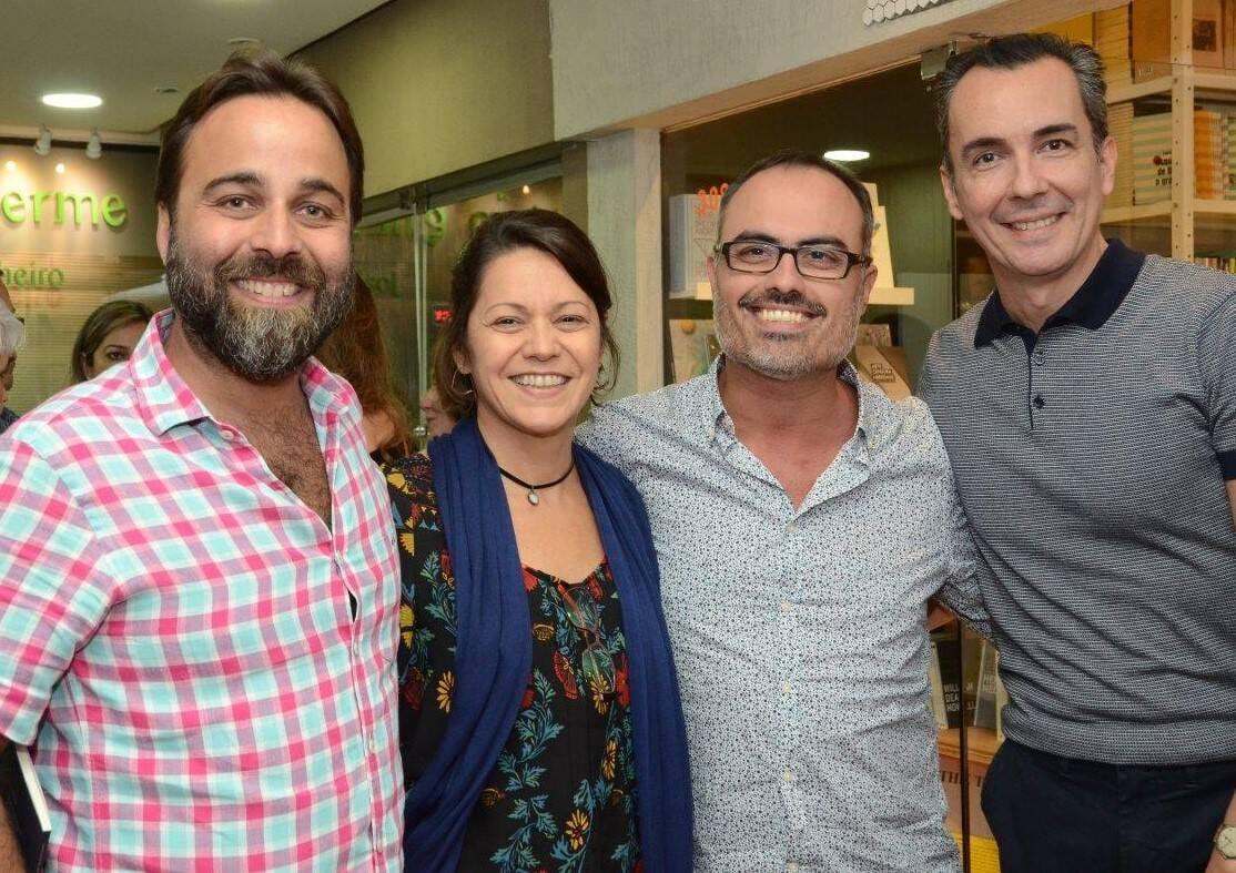 Francisco Palmério, Daniela Hungria, Christovam de Chevalier e Marcelo Isaack  /Foto: Marco Rodrigues