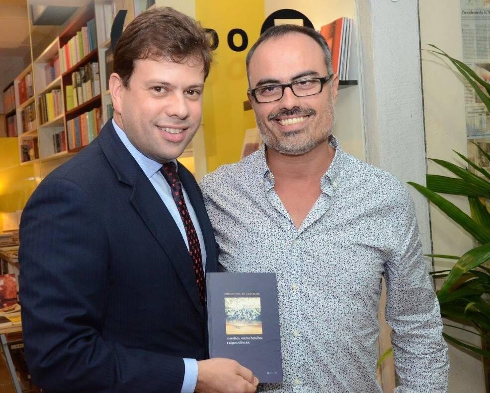 Gustavo Carvalho Miranda e Christovam de Chevalier  /Foto: Marco Rodrigues