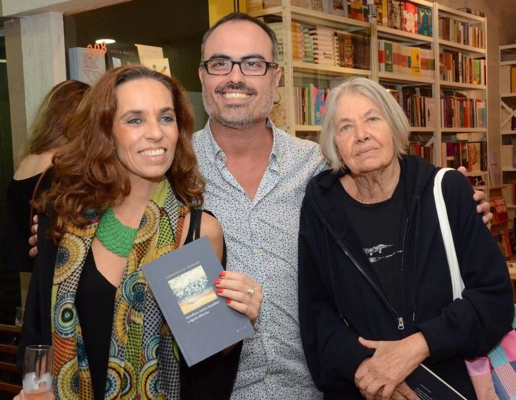 Hellen Queiroz, Christovam de Chevalier e Thereza Eugênia Paes  /Foto: Marco Rodrigues