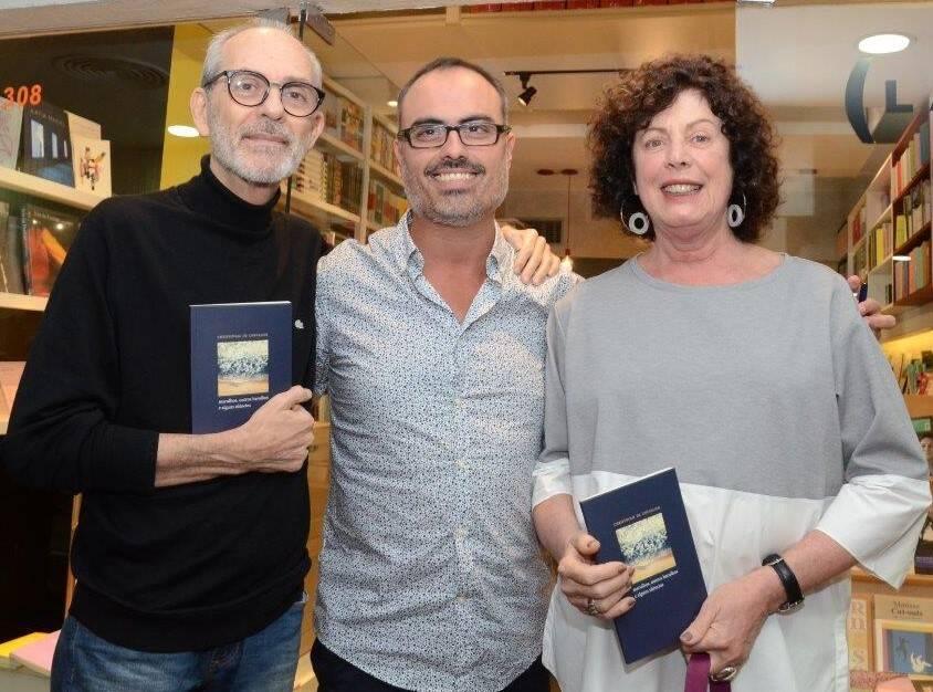 Ivan Aaron, Christovam de Chevalier e Lygia Marina  /Foto: Marco Rodrigues