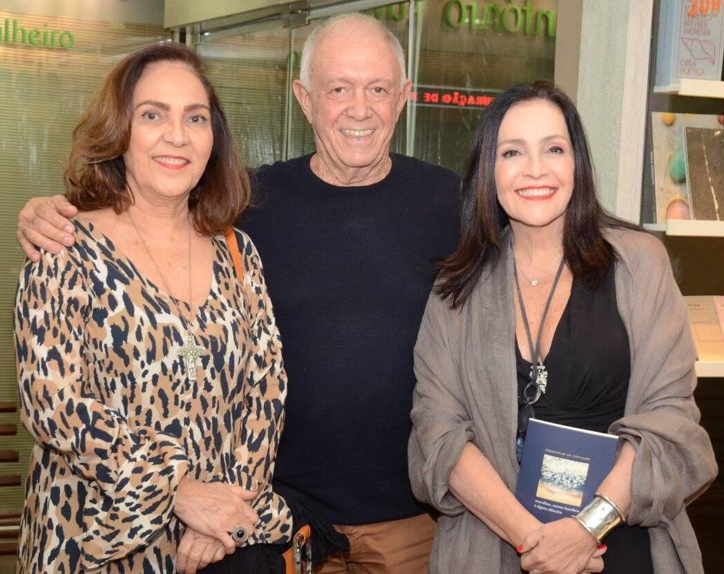 acira Lucxas, Roberto Frota, Liliana Rodriguez  /Foto: Marco Rodrigues