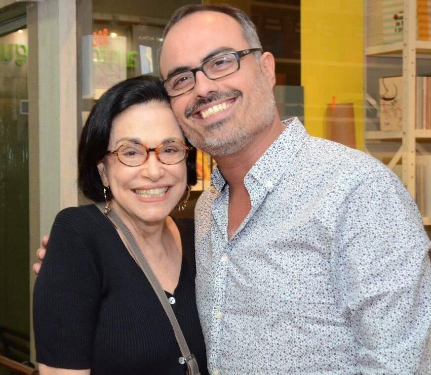 Maria Lúcia Rangel e Christovam de Chevalier  /Foto: Marco Rodrigues