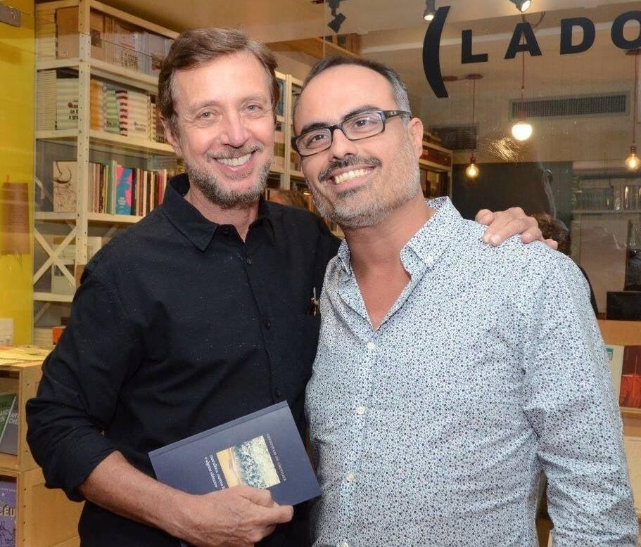 Nando Gabowsky e Christovam de Chevalier  /Foto: Marco Rodrigues