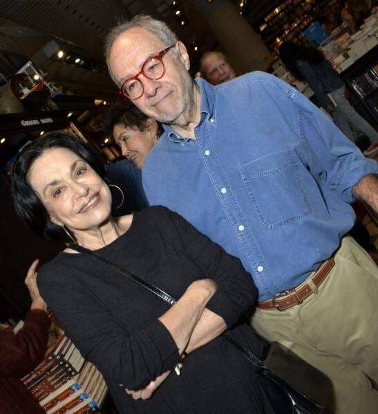 Maria Lucia Rangel e Sergio Augusto  /Foto: Crisitna Granato