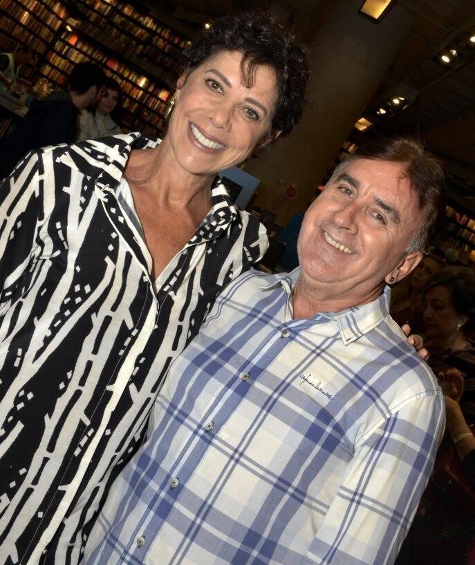 Angela Vieira e Claudio Rangel /Foto: Crisitna Granato