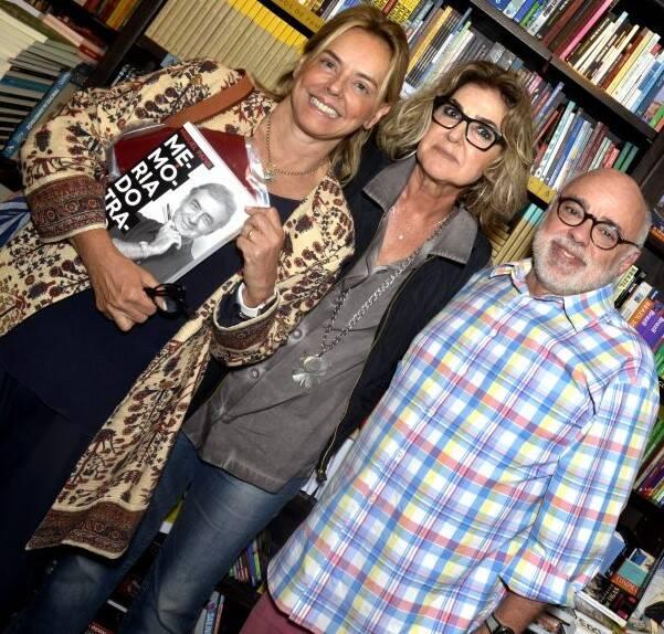 Denise Stewart, Claudia Aragão e Janjão  /Foto: Crisitna Granato