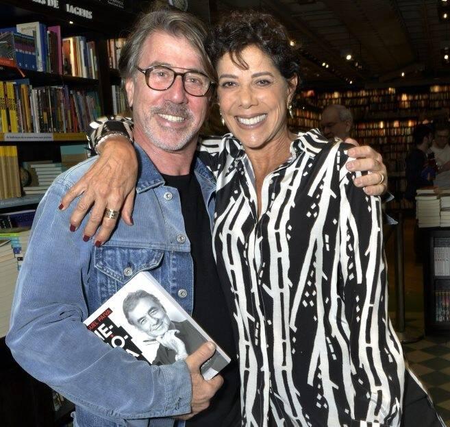 Jairo de Sender e Angela Vieira  /Foto: Crisitna Granato
