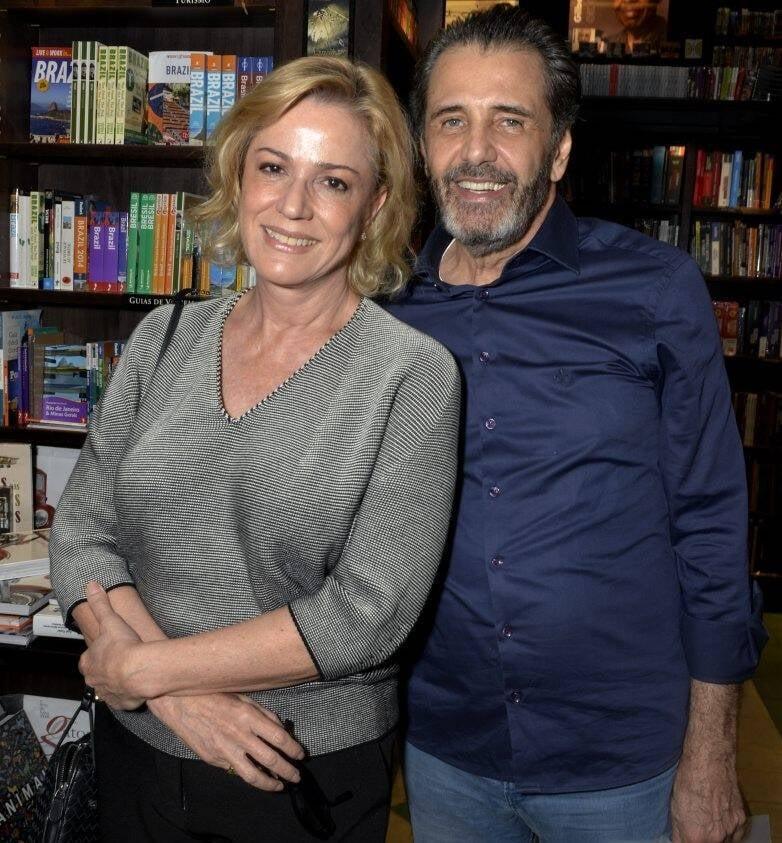 Marcia Peltier e Claudio Pereira  /Foto: Crisitna Granato