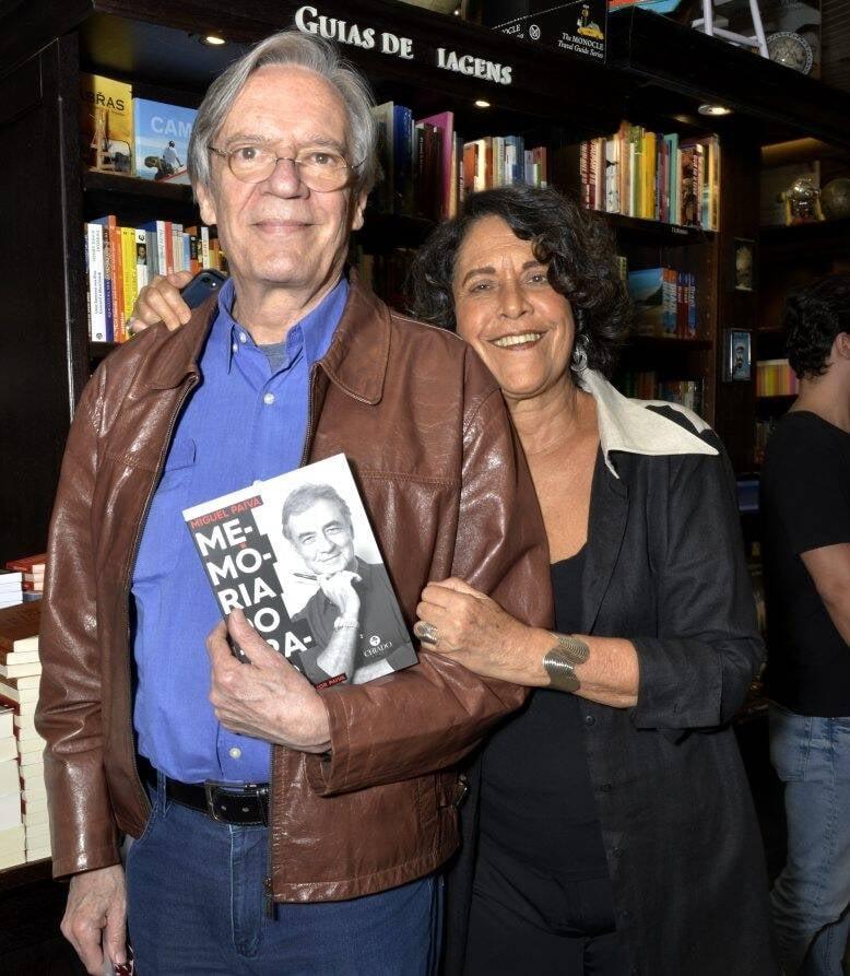 Eliana e Chico Caruso  /Foto: Crisitna Granato