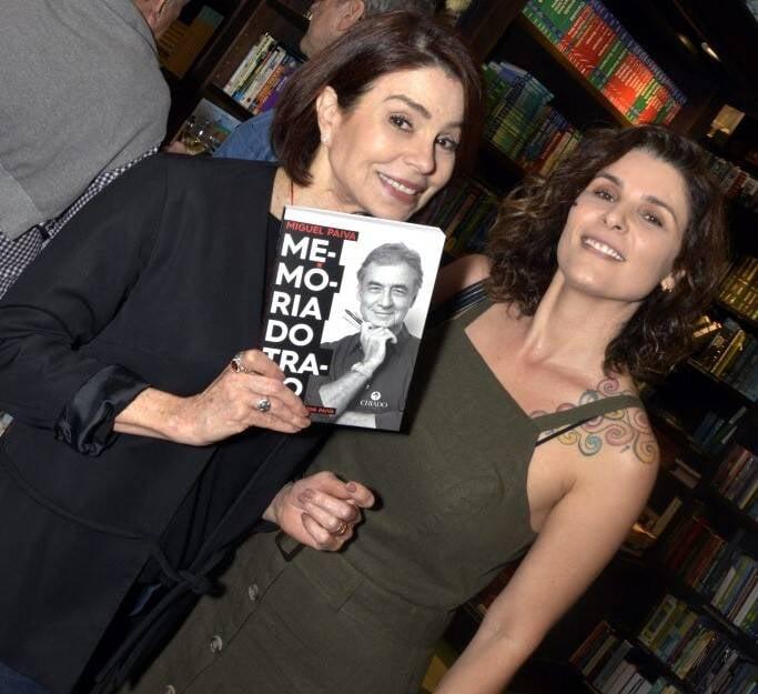 Françoise Forton e Jeane Terra  /Foto: Crisitna Granato