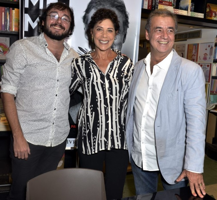 Vitor Paiva,  Angela Vieira e Miguel Paiva  /Foto: Crisitna Granato