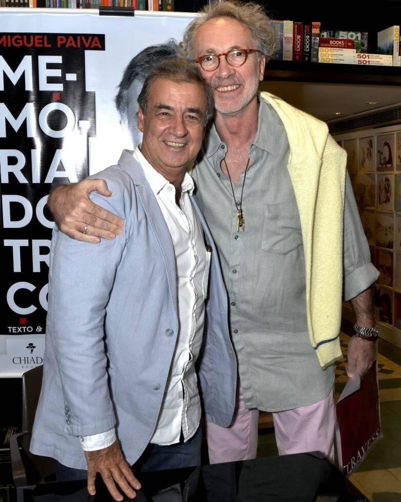 Miguel Paiva e Antonio Negreiros   /Foto: Crisitna Granato
