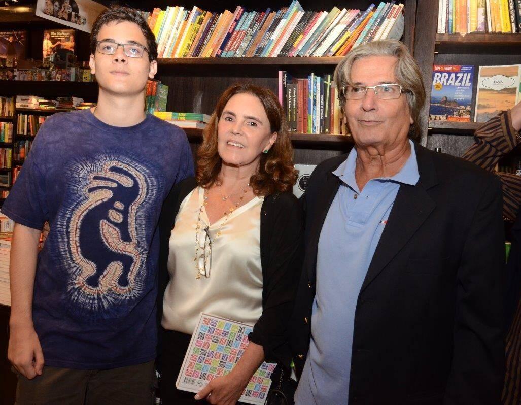 José Cavalcanti Roberto, Vera Andrade e Marcio Roberto  /Foto: Marco Rodrigues