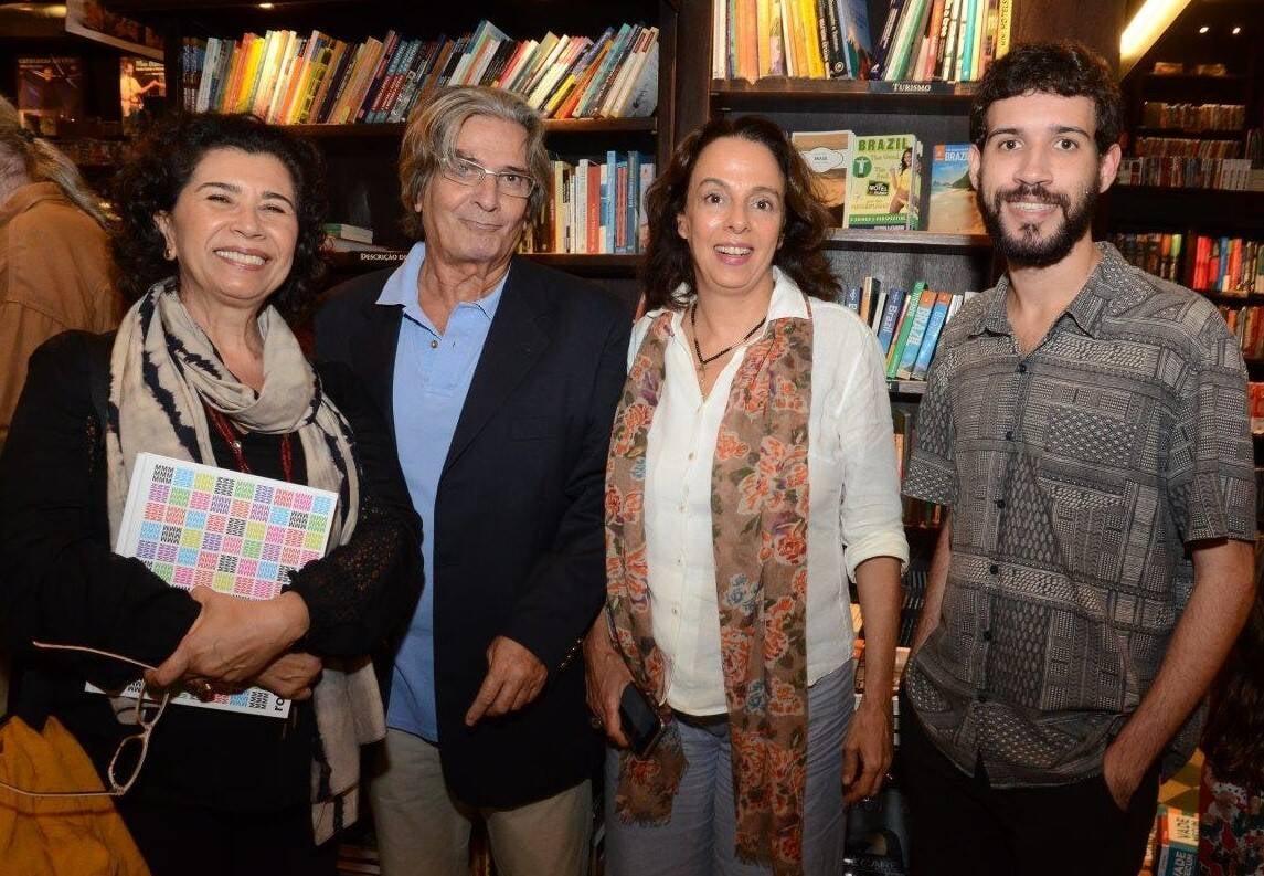 Kykah Bernardes, Marcio Roberto, Renata Bernardes Proença e Vitor Cunha  /Foto: Marco Rodrigues