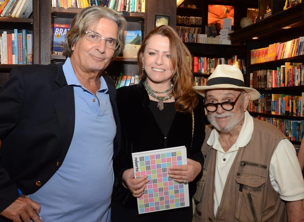 Marcio Roberto, Ana Clara Ghivelder e Antonio Pedro  /Foto: Marco Rodrigues