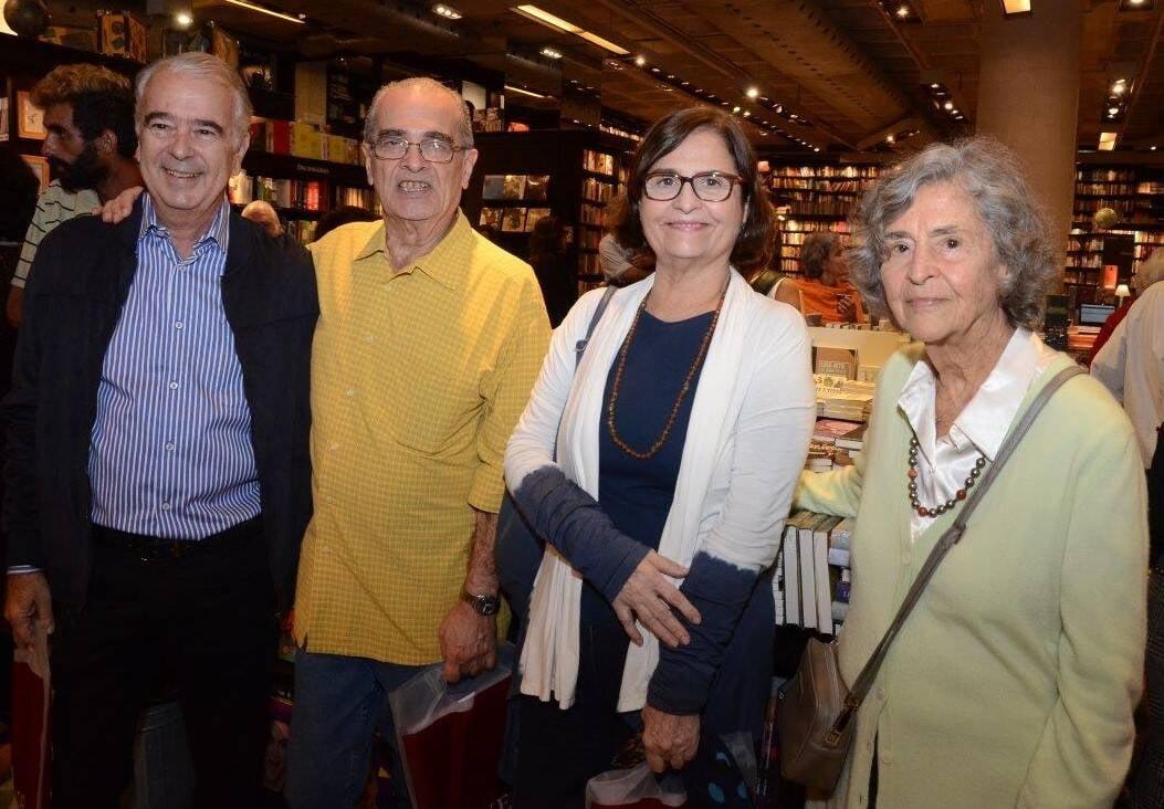 Pedroa Amado, Claudio Roberto, Patrícia e Marhta Spyer  /Foto: Marco Rodrigues