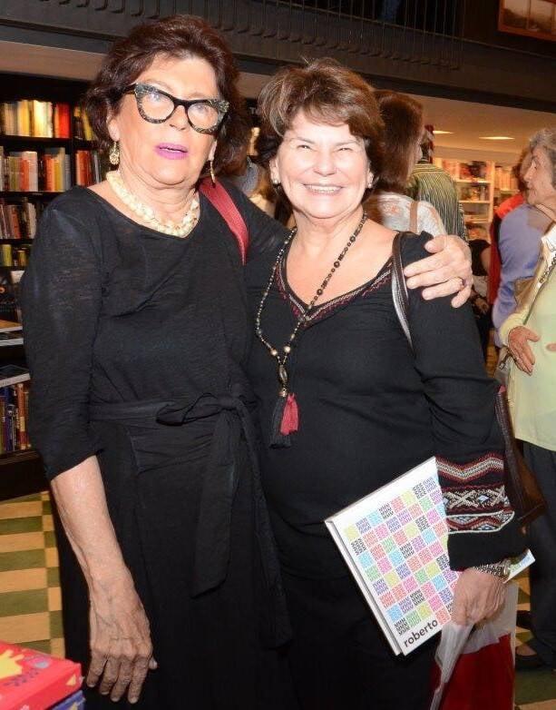 Ana Maria Roiter e Vera Flexa Riibeiro  /Foto: Marco Rodrigues