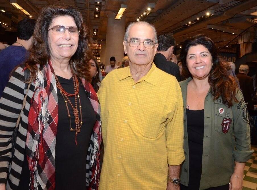 Ana Maria Tornaghi, Carlos Roberto e Ana Borelli  /Foto: Marco Rodrigues