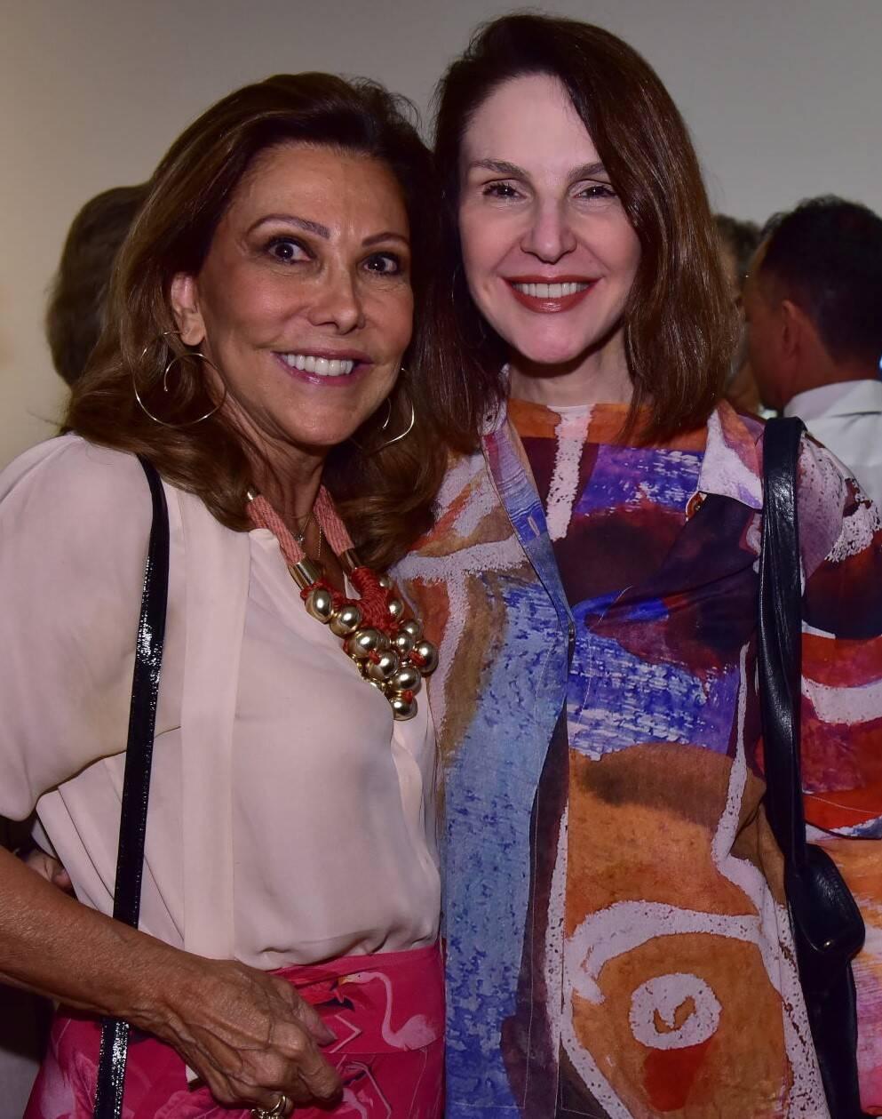 Anna Luiza Rothier e Toia Lemann /Foto: Paulo Jabur
