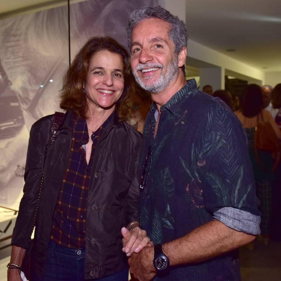 Bebel Palhares e Pedro Guimarães /Foto: Paulo Jabur
