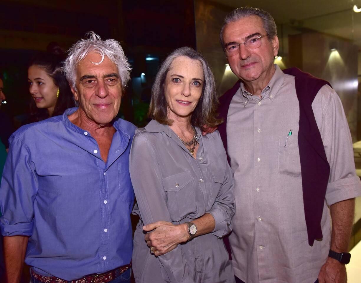 Cadas Abranches David,  Marisa e Artur Peixoto /Foto: Paulo Jabur