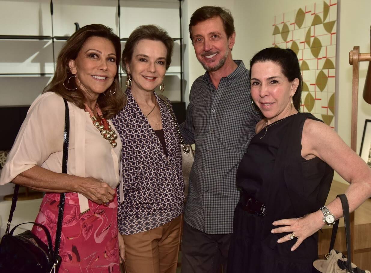 Anna Luiza Rothier,  Bia Lettieri, Nando Grabowsky e Paola Ribeiro /Foto: Paulo Jabur