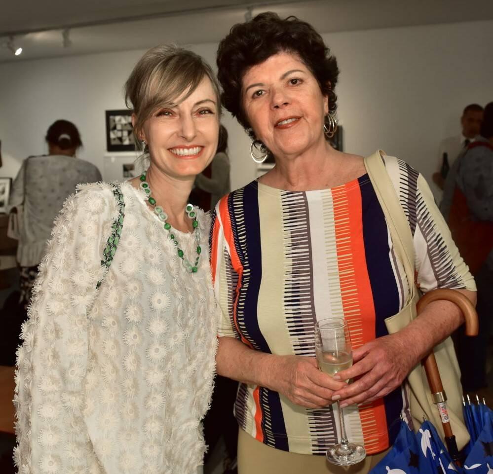 Patrícia Marinho e Vera de Alencar /Foto: Paulo Jabur