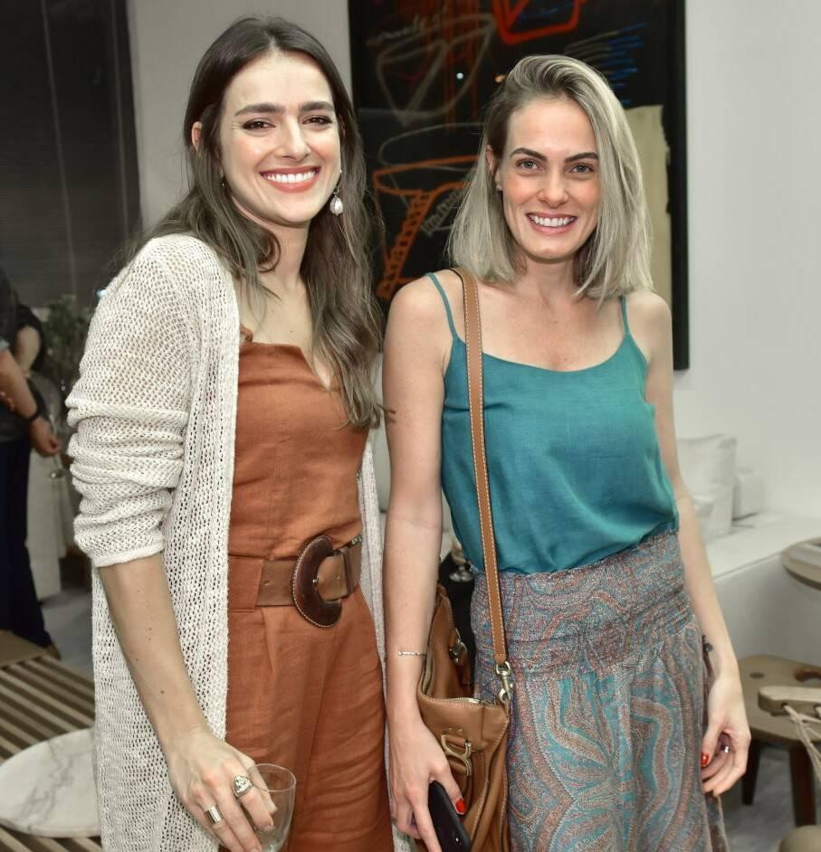 Danielle Freitas e Luiza Bottino /Foto: Paulo Jabur