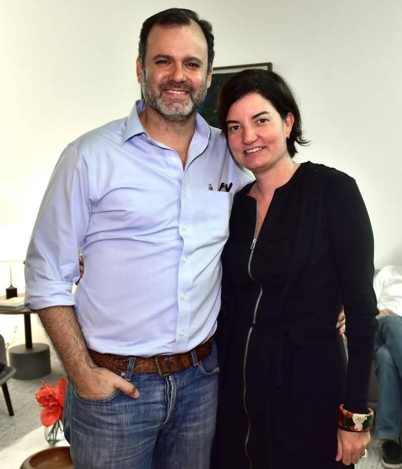 Erick Figueira de Mello e Roberta Moura /Foto: Paulo Jabur