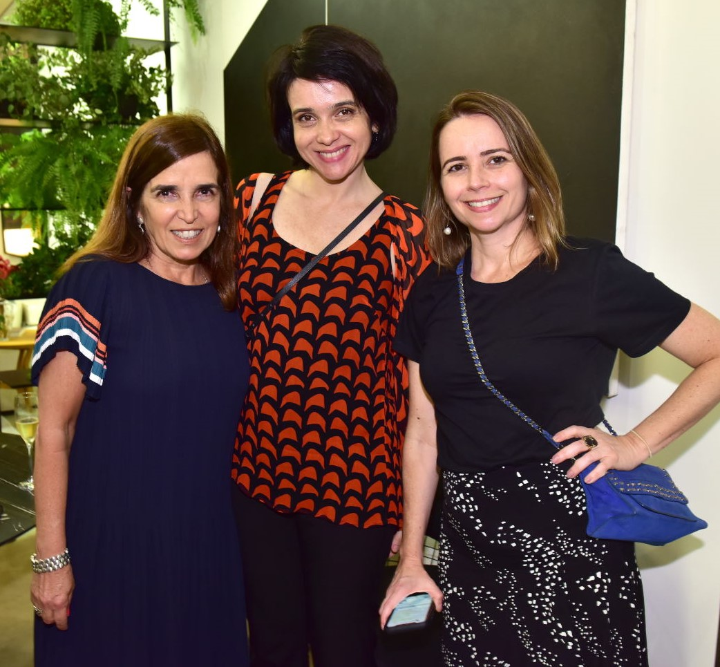 Andréa Chicharo, Aracy Queiroz e Taís Caetano /Foto: Paulo Jabur