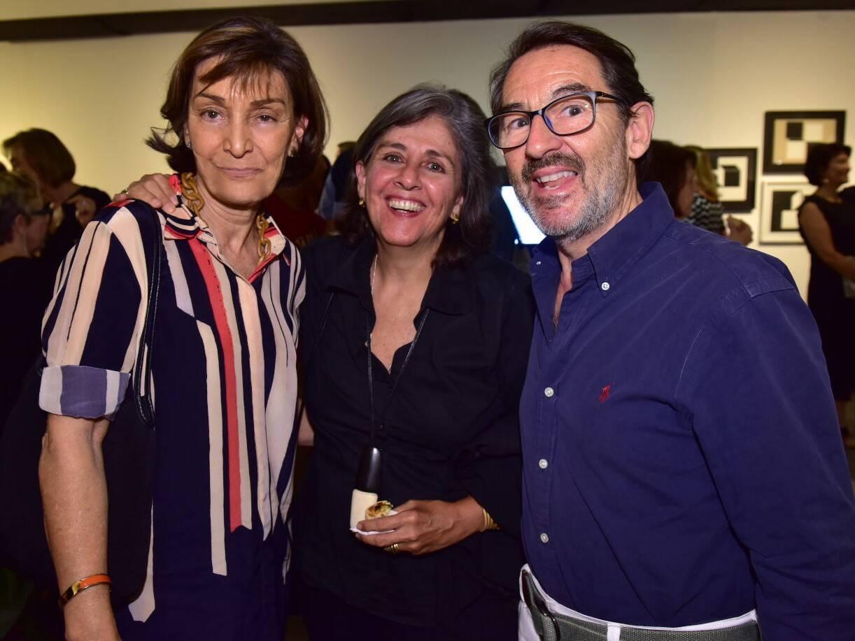 Heloísa Amaral Peixoto, Bitty e Marc Pottier /Foto: Paulo Jabur