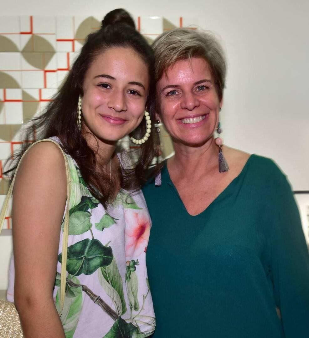 Dominique Camargo e Mônica Camargo /Foto: Paulo Jabur