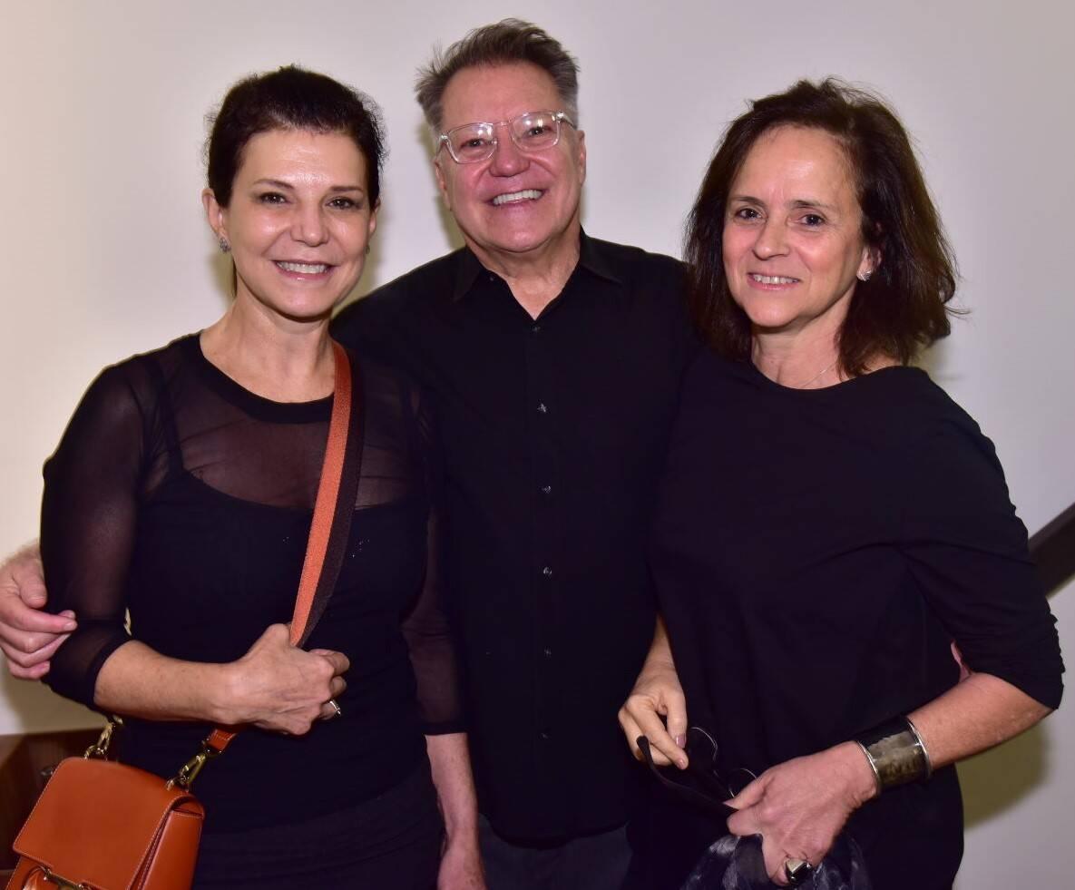 Paula Neder, João Caetano e Patrícia Quentel /Foto: Paulo Jabur