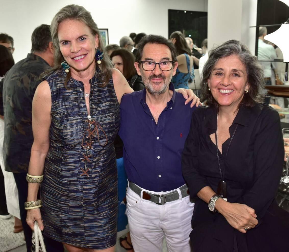 Michaela de Charbonnieres, Marc e Bitty Pottier /Foto: Paulo Jabur