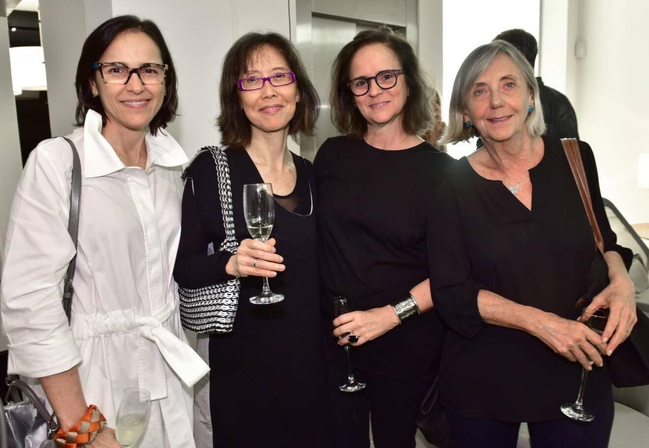 Gisele Taranto, Chean Hsui, Patrícia Quentel e Teresa Seiler /Foto: Paulo Jabur