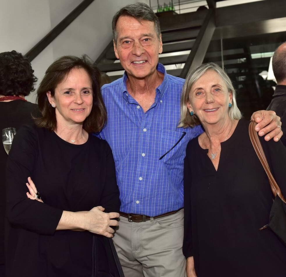 Patrícia Quentel, Teddy e Teresa Seiler /Foto: Paulo Jabur